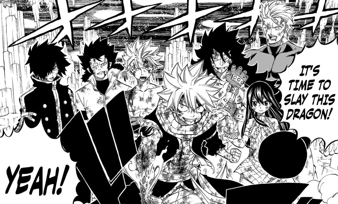 With Only Six Chapters Left Until Fairy Tail Is Officially Over I Figured It Was Time To Do A Review For This Beloved Series Chapter Really Jumped